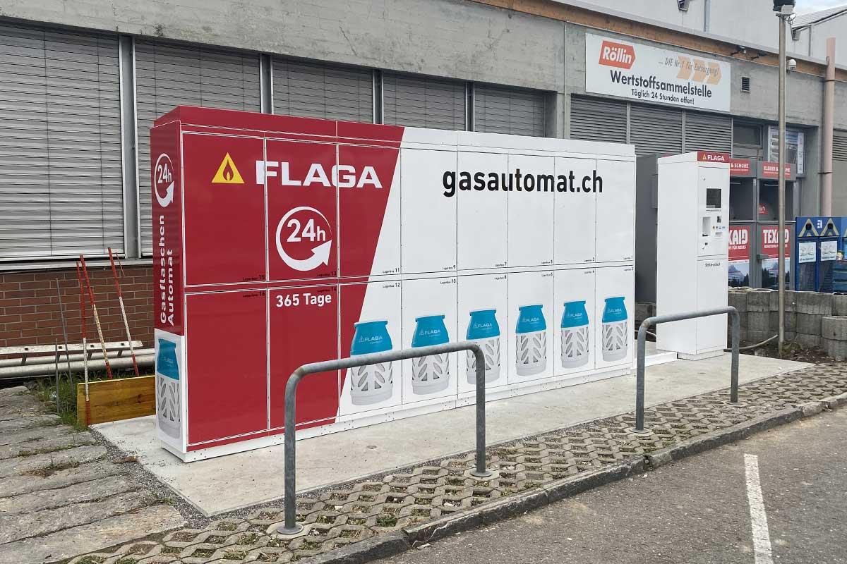 Neuer Gasautomat in Regensdorf